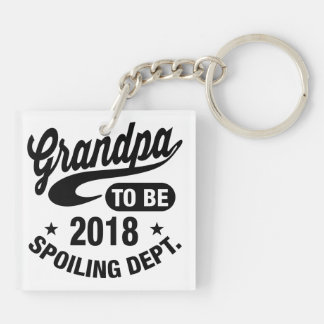 Grandpa To Be 2018 Key Ring