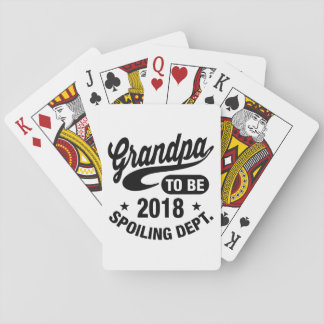 Grandpa To Be 2018 Playing Cards