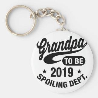 Grandpa To Be 2019 Key Ring