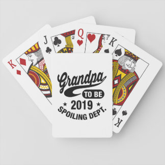 Grandpa To Be 2019 Playing Cards