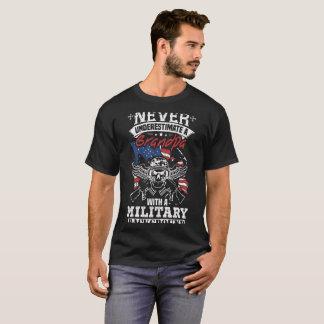 Grandpa With A Military Background Granpa T Shirt