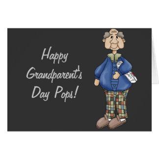 Grandpa with Newspaper Design Card