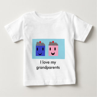 Grandparent Cupcakes Baby T-Shirt