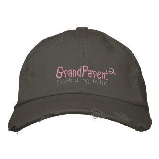 GrandParent F Embroidered Baseball Caps