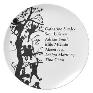 Grandparent Grandkid's Names Custom  Plate