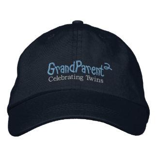 GrandParent MDrk Embroidered Baseball Caps