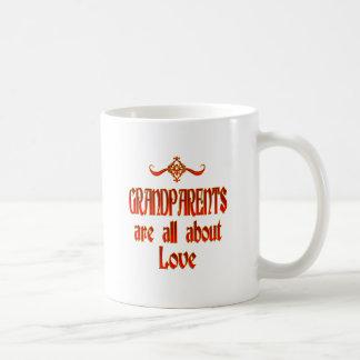 Grandparents are Love Coffee Mugs