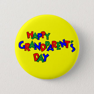 Grandparent's Day - 6 Cm Round Badge