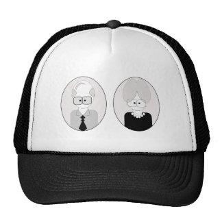 Grandparents Day - Couple Hats
