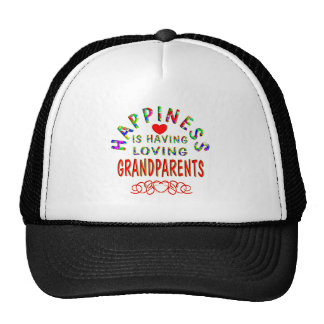 Grandparents Happiness Trucker Hat