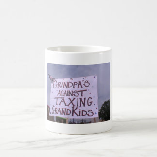 Grandpa's Against Taxing Grandkids Coffee Mug