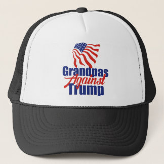 Grandpas Against Trump Trucker Hat