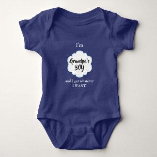 Grandpa's Boy Baby Bodysuit