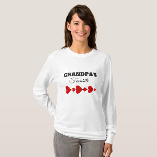 GRANDPA's FAVORITE GIFT TEE TSHIRT