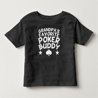 Grandpa's Favorite Poker Buddy Toddler T-Shirt