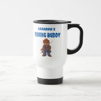 Grandpa's Fishing Buddy Bears Mugs
