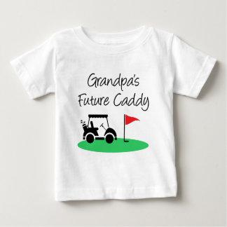Grandpa's Future Caddy Baby T-Shirt