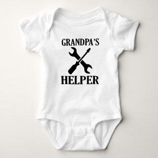 Grandpa's Helper Baby Bodysuit