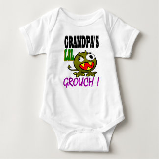Grandpa's Lil Grouch Baby Bodysuit
