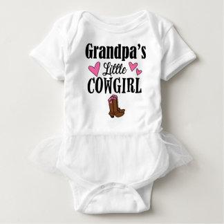 GRANDPA'S LITTLE COWGIRL BABY BODYSUIT