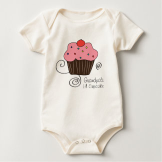 Grandpa's Little Cupcake Romper