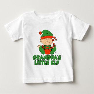 Grandpa's Little Elf Baby T-Shirt