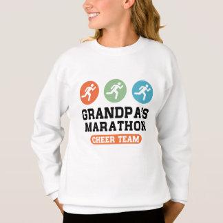 Grandpa's Marathon Cheer Team Sweatshirt