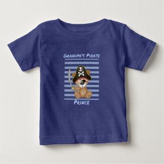 Grandpa's Pirate Prince Baby Fine Jersey T-Shirt
