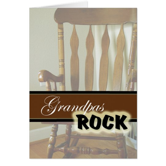 Grandpas Rock-Happy Grandparents Day Card