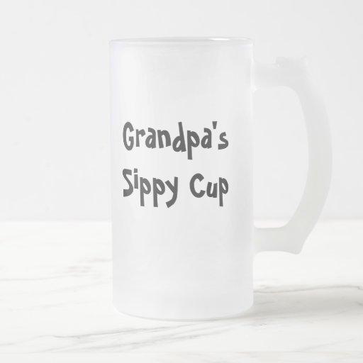 Grandpa's sippy cup mug
