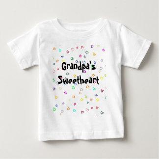 Grandpa's Sweetheart Baby T-Shirt