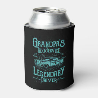 Grandpa's Taxi Service - Classic Can Cooler
