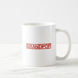 Grandpop Stamp Basic White Mug