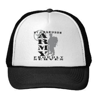 Grandson Proudly Serves - ARMY Cap