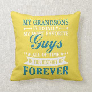 Grandsons Forever Cushion