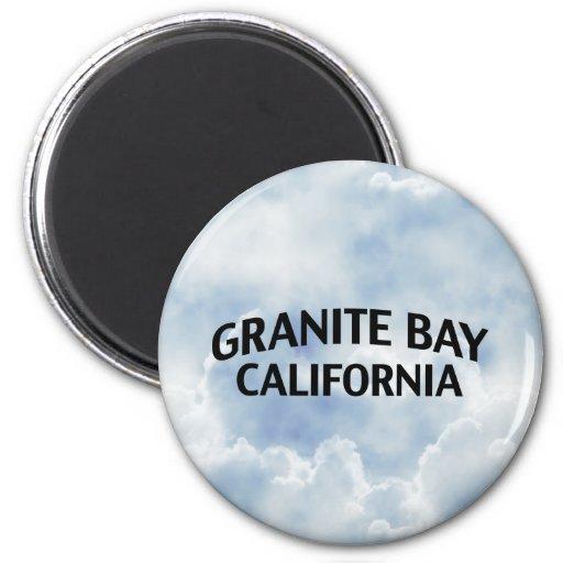 Granite Bay California 6 Cm Round Magnet