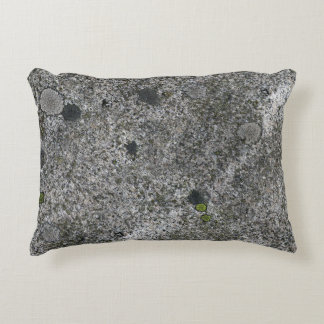 Granite Grey with Green Moss Decorative Cushion