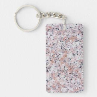 Granite pattern key ring