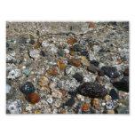 Granite Pebbles in Tenaya Lake Yosemite Nature Photograph
