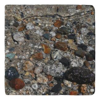 Granite Pebbles in Tenaya Lake Yosemite Nature Trivet