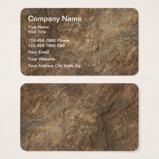 Granite Stone Look  Business Cards
