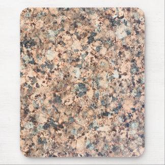 Granite texture mouse pad