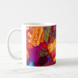 Granite Thin Section with Gypsum Plate Coffee Mug