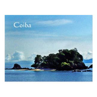 Granito de Oro, Coiba Postcard