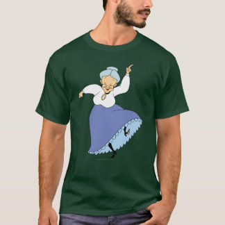 Granny Dancing - Color T-Shirt