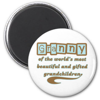 Granny of Gifted Grandchildren Magnet