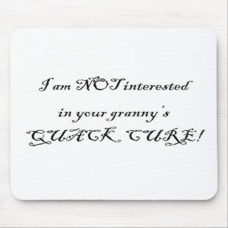 Granny Quack Cure Mouse Pad
