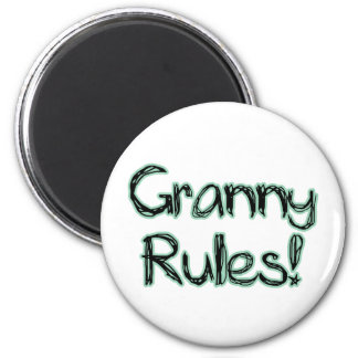 Granny Rules! Magnet