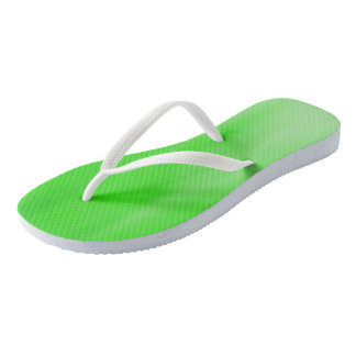 Granny Smith Ombre Wave flip-flops Thongs