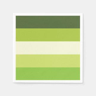 Granny Smith — Stripes Paper Napkins